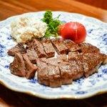 酒仙房 金生 - ・牛肉モモステーキ 150g 1580円