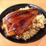 無添くら寿司 - 料理写真:寿司屋の鰻丼(特上980円)