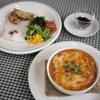 Cafe&Bakery げんらく - 料理写真:ランチ一番人気「トマトのパングラタン」 自家製天然酵母パン使用