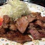 カレーとハンバーグの店 バーグ - 肉ショウガ焼き アップ