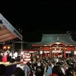 鶴亀八番 - 生田神社での祭