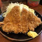 巌窟王 - 料理写真:とんかつ定食