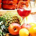 イタリアンバールエル - バルエル自慢のサングリア、とても美味しいと、オープン以来大人気です!