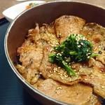 豚丼じゅじゅ庵 - 豚丼しょうゆ並