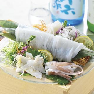 【産直鮮魚】旬の食材を活かしたこだわりのお料理