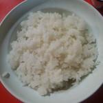 中華料理 日栄楼 - ご飯(2018年8月訪問時)