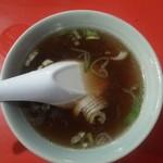 中華料理 日栄楼 - スープ(2018年8月訪問時)