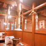 90516837 - こじんまりとした店内ですが、テーブル席は意外にゆとりがあり、おとなりさんとの距離はきになりません❤️