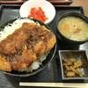 蓮田サービスエリア 下り線  - 料理写真:ソースカツ丼