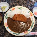 ミンガス - 三元豚ロースカツカレー(モーニング)