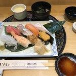 割烹 松活 - 料理写真:中にぎり=1420円