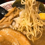 長浜らーめん - 麺