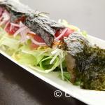 あばらや - まぐろと韓国海苔のサラダ