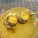屋久岳(八食センター) - 料理写真:ホタテ焼き400円