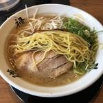 らーめん 斗道禄 - ストレート細麺