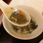 上海豫園 - スープ