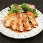 美桜鶏のチキンソテー