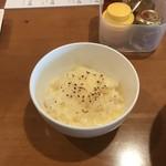 中華そば Ryo - 炙りチーズご飯(まぜそばの追メシ)