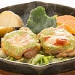 アンジュ - 森林鶏のトマトとバジルのチーズ焼き