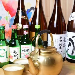 韓国焼酎とマッコリ