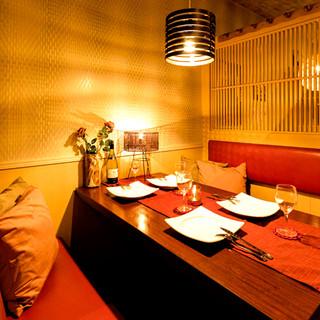 ★おしゃれな個室完備★大切な人とプライベート空間を満喫!!