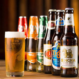 【ボトルビール×アジアン】料理をひきたてるアジアンビール