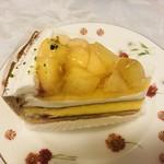 Frips - 桃とチーズのタルト