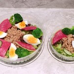 ツナと卵のプロテインサラダ