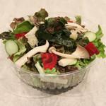 海藻ときのこのファイバーサラダ