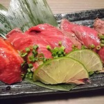 個室 肉屋の肉バル さいたま肉の会 - イチボ
