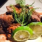 個室 肉屋の肉バル さいたま肉の会 - サーロインステーキ