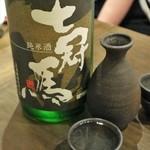 裏天王寺 肉寿司 - ◆七冠馬 900円
