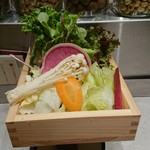 90533825 - 野菜盛りだくさん