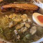 麺屋 春爛漫 - 芳醇 塩ラーメン 880円