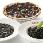 マーケットレストラン AGIO - イカスミ料理