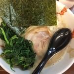ゴッチ - 塩ラーメン750円+ほうれん草増し100円
