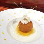 90540664 - デザート / 柑橘香るサバラン 沖縄南大東島産ラムの甘さと香りに魅せられて