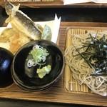 生そば 紅葉亭 - 料理写真:天ざる