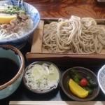 90543445 - 豚塩カルビ丼セット(もり)900円