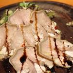 豚タンの燻製