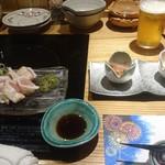豚しゃぶ酒房 一昇hanare - 地鶏ささみのタタキ