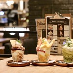 CAFE ARCA&CO. - シメパフェ3種