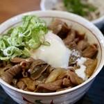 どて丼・串かつ・おおぞら - 醤油豚ホル丼