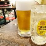 焼きとん大国 - 生ビール&角ハイボール