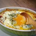 ナンバー4!! 野菜のトマト煮グラタン‼‼ フラメンカエッグ