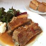 ブラッセリートゥール - 国産スペアリブの煮込みランチ(1300円)