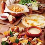cafe ハッピーさかい - ハッピーコース〈チーズフォンデュ〉