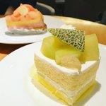 サー・トーマス・リプトン - アールスメロンのショートケーキ