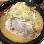 麺処 花田 - 味噌(野菜増し)830円