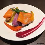 Yui - 自家菜園産の蒸し野菜